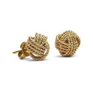 Tiffany Twist Knot Earrings